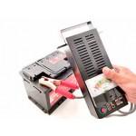 Проверка аккумуляторной батареи с помощью нагрузочной вилки и таблицы параметров состояния аккумуляторной батареи.