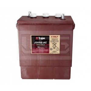 Trojan J305E-AC, Центр Аккумуляторных Батарей, Trojan, Моноблочные тяговые,