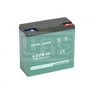 Chilwee 6-DZM-20, Центр Аккумуляторных Батарей, Chilwee, Моноблочные тяговые,