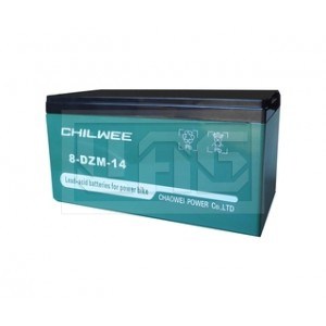 Chilwee 8-DZM-14, Центр Аккумуляторных Батарей, Chilwee, Моноблочные тяговые,