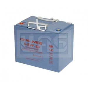 Chilwee 6-EVF-80, Центр Аккумуляторных Батарей, Chilwee, Моноблочные тяговые,